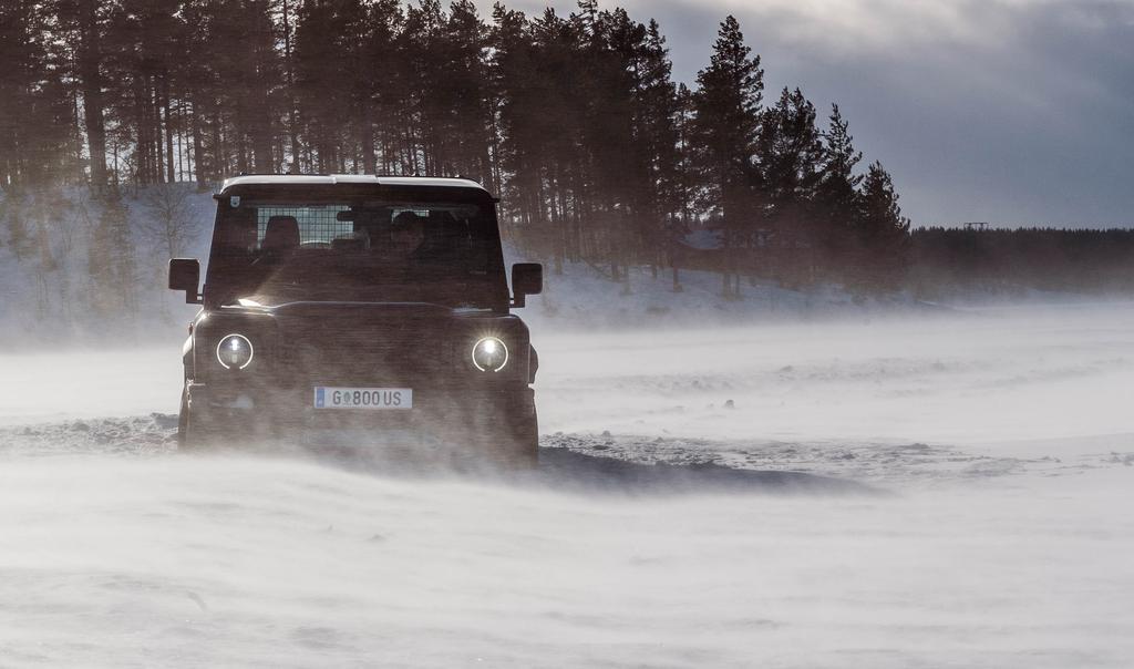 2B Prototype - Winter Testing Sweden 2021