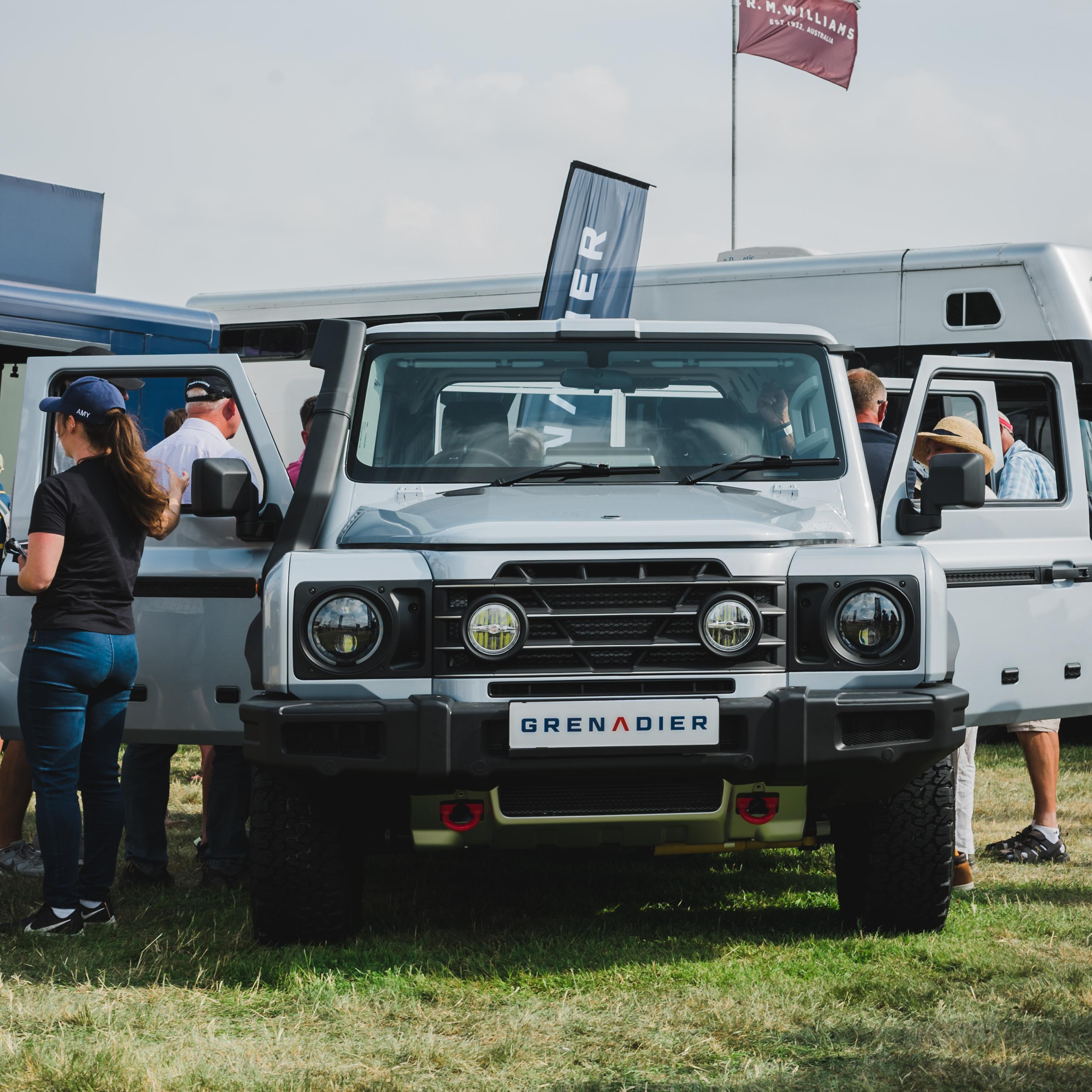 The Grenadier At The 2021 Game Fair