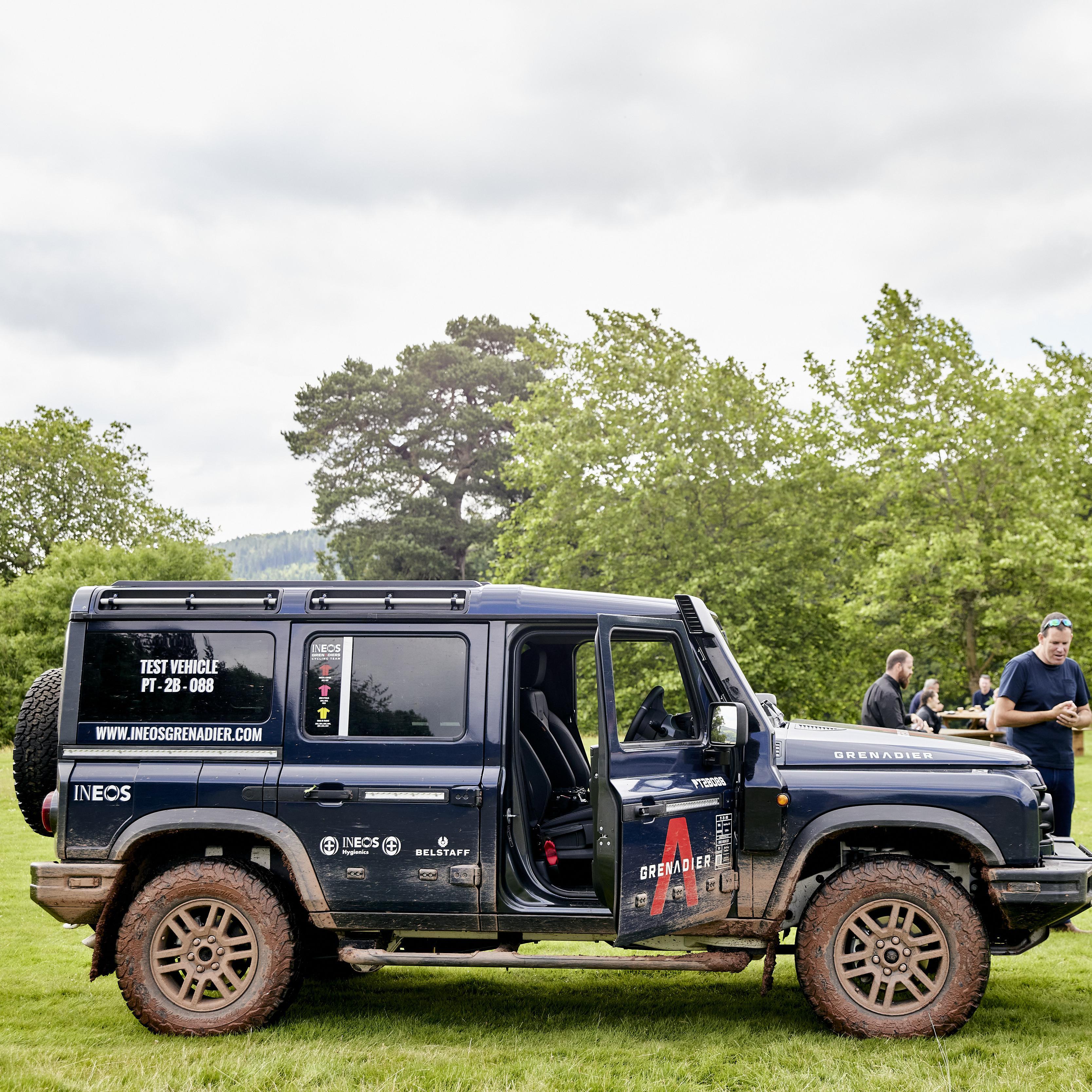 The Grenadier 2B Prototype Tour: Glanusk, Wales